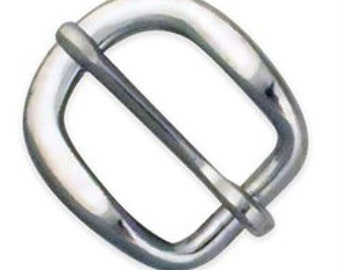 """Strap Buckle 1"""" (2.5 cm) Stainless Steel 1529-04"""