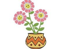 Flower Machine Embroidery Design, Flower Design, Flower Embroidery, Embroidery Flower, Filled stitch, 4X4 5X7 6X10, Instant download