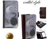 Harry Potter Advanced Potion Making handbook book case for iphone and galaxy smartphones - Leather wallet