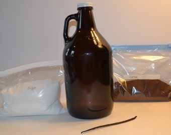 A Kit when added Rum and water will make Kahlua a coffee liqueur Drink all other necessary ingredients are included.
