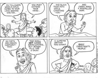 Stuff Jesus Said (7/8/14) - original artwork