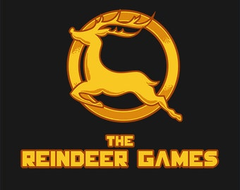 Reindeer Games T-Shirt (Guys) - Hunger Games - Christmas - Rudolph - TShirt - Men's S M L XL XXL
