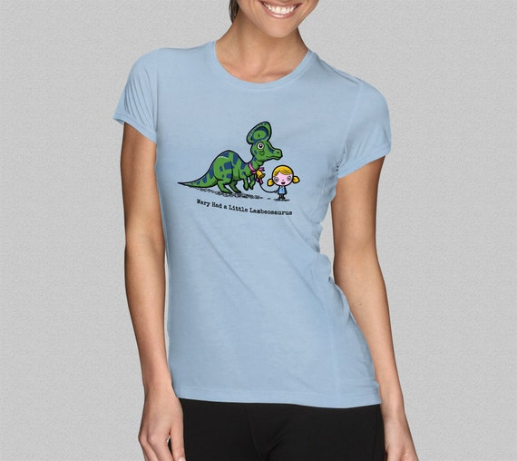 Mary Had A Little Lambeosaurus T Shirt Women 39 S T Shirt By
