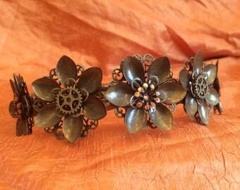 Bronze Flower Crown