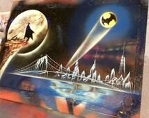 BATMAN - Spray Paint Art - Space Painting