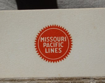Missouri Pacific Lines coasters