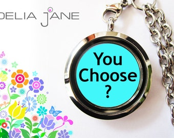 """YOU CHOOSE!! You create your own locket. One fixed price. Visit www.deliajane.com """"Build Your Locket"""""""