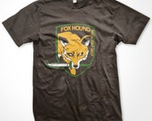 Fox Hound Softstyle T-shirt inspired by Metal Gear Solid