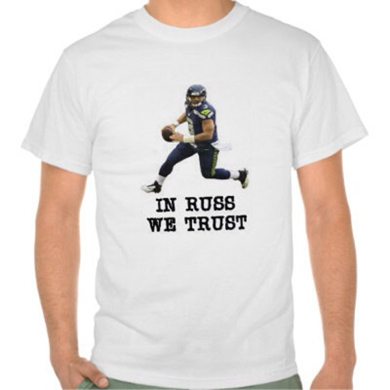Russell wilson tshirt seattle seahawks shirt by 718shirts for Russell wilson womens t shirt