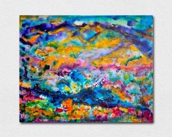 La Cienega Valley - 20x16 original acrylic painting on canvas