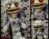 Asylum collectable art doll - Roger Rabbid from the forgotten dolls collection