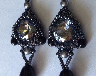 Tutorial: Lady Gray Earrings