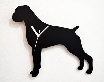 Boxer Dog- Wall Clock