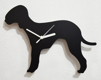 Bedlington Terrier  - Wall Clock