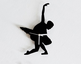Ballerina - Wall Clock
