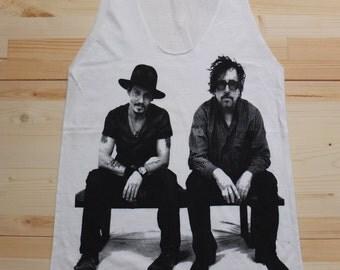 Johnny Depp Tim Burton Movie Actor Fashion T-Shirt Vest Tank Top