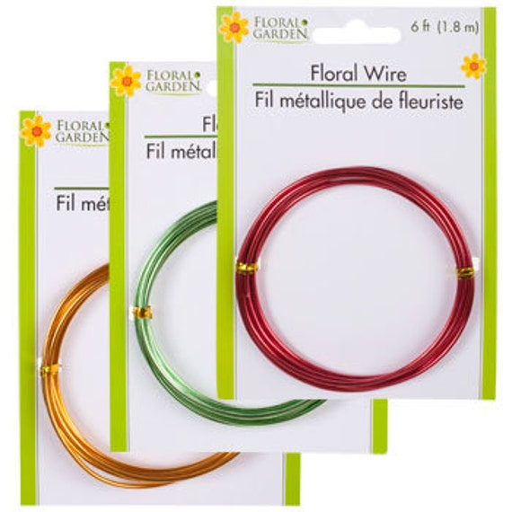 FLORAL WIRE GOLD crafters Basic necessities crafters floral ...