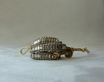 Sarana Triple Wrap Bracelet