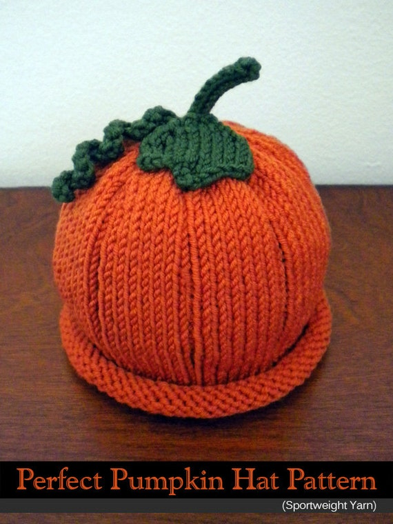 Perfect Pumpkin Hat Sport Weight Yarn For The Family