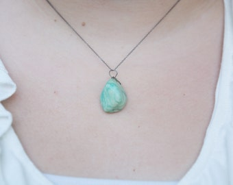 Teal Stone Necklace