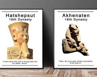 Ancient Egyptian Leaders Posters