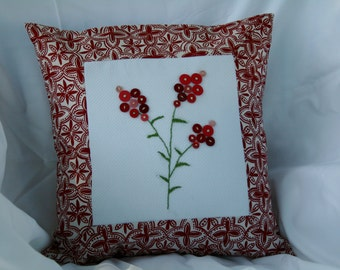 Indian Paintbrush Pillow Cover