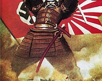 Japanese Samurai Poster 11* 17 inches