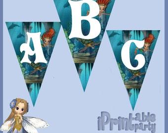 Sea Princess Printable Banner