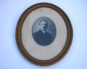 1910s Edwardian Portrait Photo of a Gentleman Vintage Photo Antique Portrait