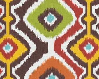 Ikat Mesa Chocolate Brown, Ikat Fabric