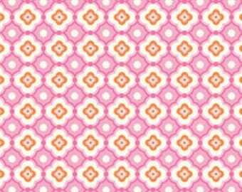 1 HALF YARD of Geo in Fuschia, Taza by Dena Designs
