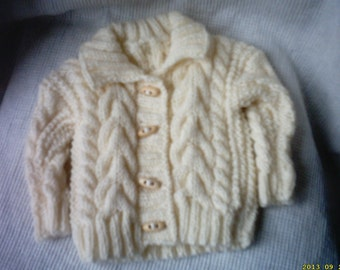 irish boy sweater ,aran sweater,baby Irish sweater, Irish  boy sweater,Irish sweater,irish boy hat,newborn sweater,ready to ship