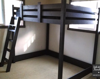 Loft Bed, full or twin size