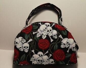 Handbag 'Red roses'