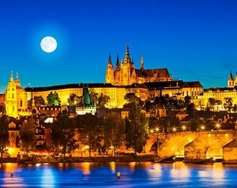 Czech Republic - Prague - Skyline with castle - SKU 0013