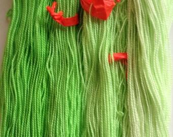 SPRING! 600 yard 150g FOUR gradient sock yarn 100% Merino Superwash #319 UNskeined