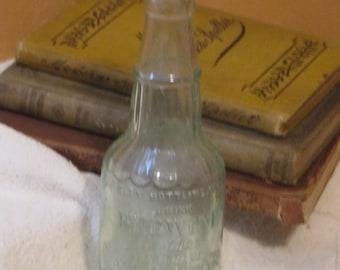 Vintage Redwine Bottle
