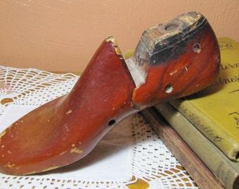 Vintage Wooden Shoe Last