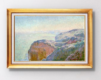 Claude Monet - Val-Saint-Nicolas, near Dieppe (Morning) - Fine Art Glicée - 1897 - SKU 0131