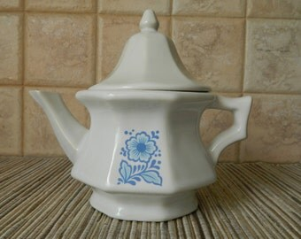 Vintage Avon Ceramic Teapot with Domed Lid