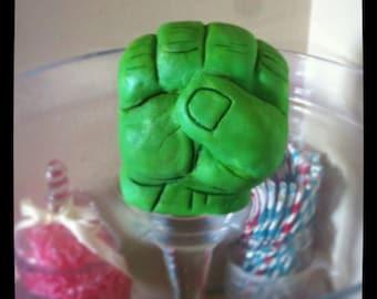 Hulk Hand Cake topper