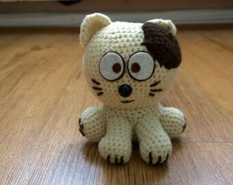 Patchy the Amigurumi Crochet Cat