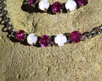 Swarovski necklace/bracelet set