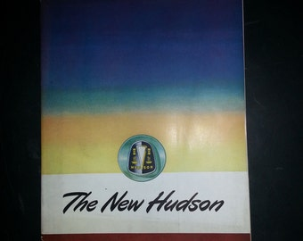 1947 Hudson Automobile Sales Brochure