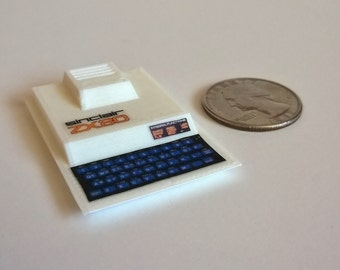 Mini Sinclair ZX80 - 3D printed!