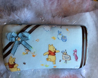 set of two wipe cases;winnie the pooh wipe case;pooh wipe cases;wipe cases
