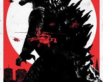"Godzilla Combic 35"" Poster"