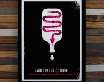 Every Time I Die Screen Printed Poster