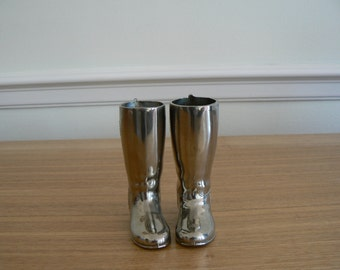 Pair of Grenadier Riding Boot Spirit Measures - without liners so selling as decorative item.