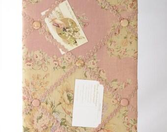 Miss Rose Sister Violet French Floral Memory board